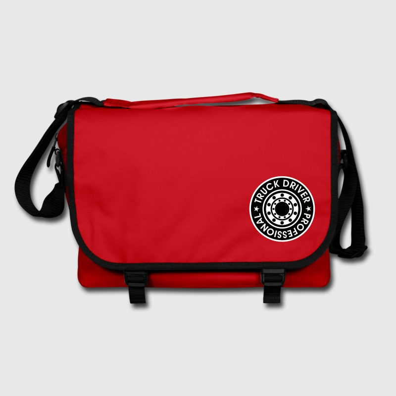 Professional Truck Driver. * Trucker. Lorry Wheel  Bags  - Shoulder Bag