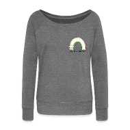 Hoodies & Sweatshirts ~ Women's Boat Neck Long Sleeve Top ~ Delicious Marzia