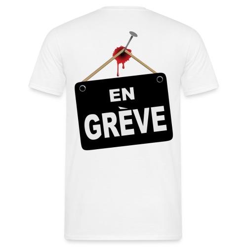 maillot de grève - T-shirt Homme