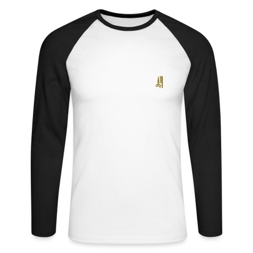 AN_Long Sleeve Small Logo - Men's Long Sleeve Baseball T-Shirt