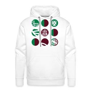 PULL PORTUGAL - Sweat-shirt à capuche Premium pour hommes