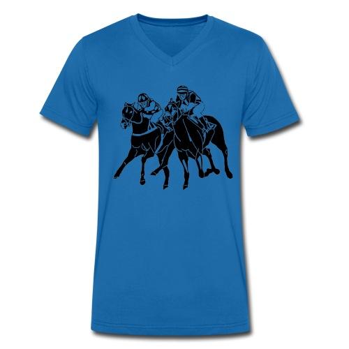 He. TSF-Shirt mit V-Ausschnitt - Männer Bio-T-Shirt mit V-Ausschnitt von Stanley & Stella