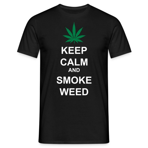 Black One : Tee-Shirt WEED Homme - T-shirt Homme