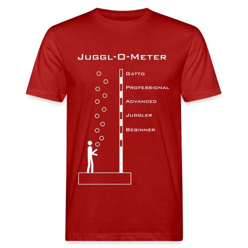 Juggle-O-Meter - Männer Bio-T-Shirt