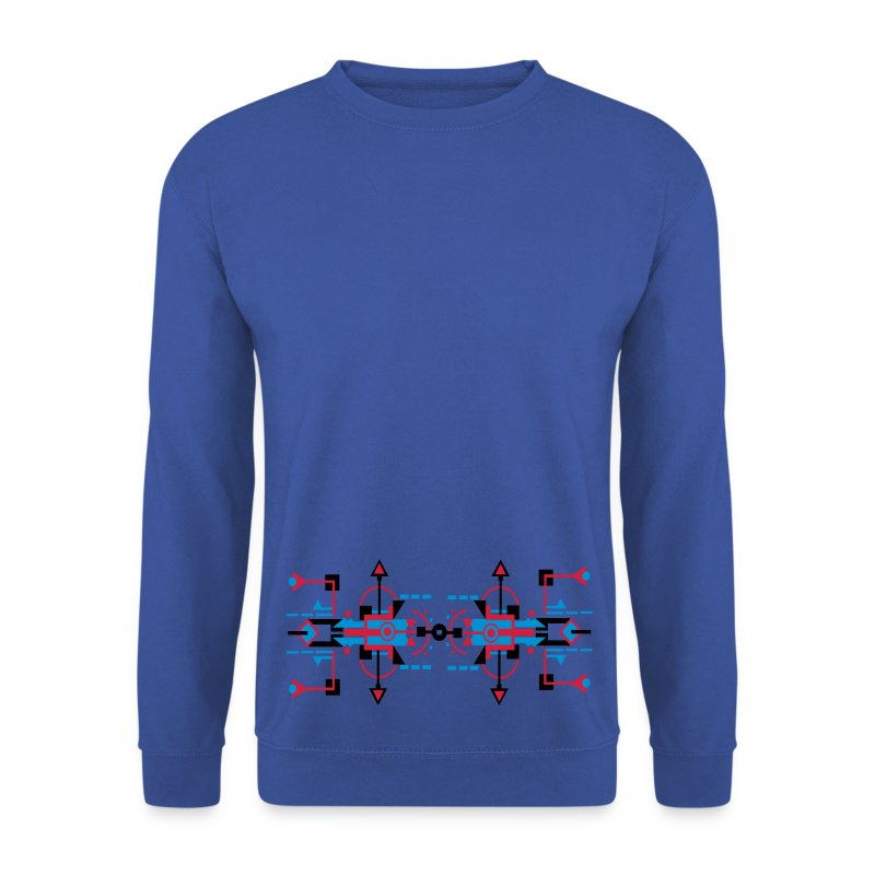Digitaldrawn Figuur - Mannen sweater