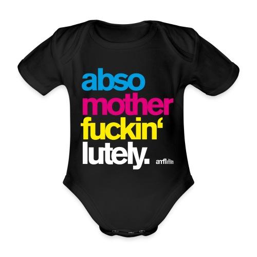 amfl #001 Baby - Baby Bio-Kurzarm-Body