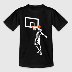 basketball_022013_d_2c T-Shirts - Kinder T-Shirt