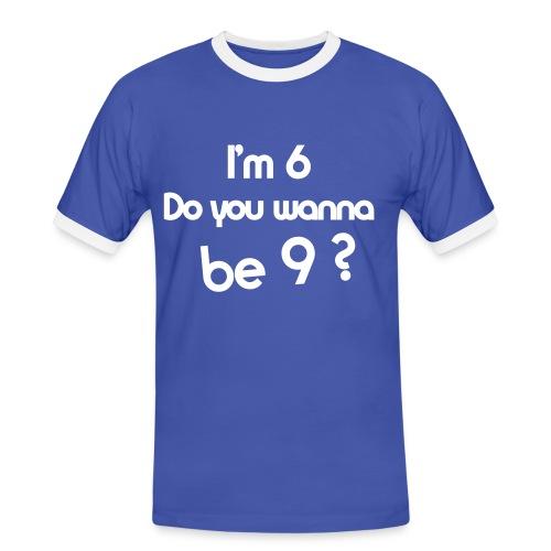 69 - Camiseta contraste hombre