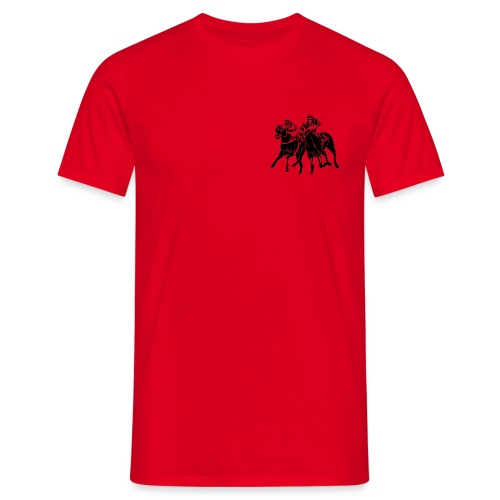 T-Shirt m. Galopp-Logo a.d Brust u. TSF-Logo auf dem Rücken - Männer T-Shirt