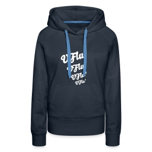 Sweat VFlu' - Lady - Sweat-shirt à capuche Premium pour femmes