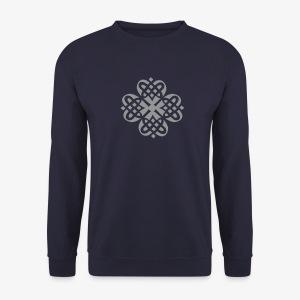 Shamrock Celtic Knot decoration patjila  - Men's Sweatshirt