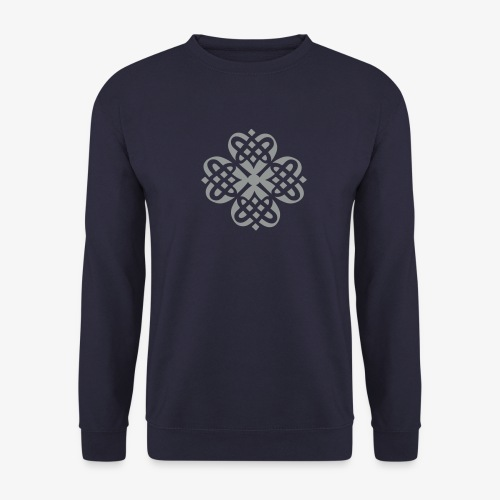 Shamrock Celtic Knot decoration patjila  - Men's Sweatshirt