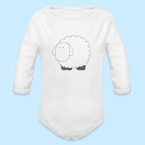 Baby Sheep - Organic Longsleeve Baby Bodysuit