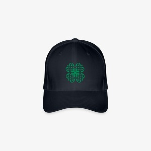 Shamrock Celtic Knot decoration patjila  - Flexfit Baseball Cap