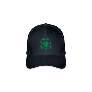 Shamrock Celtic Knot decoration patjila  - Flexfit baseballcap