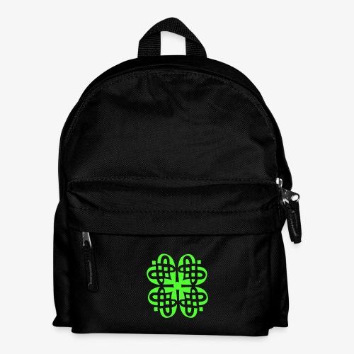 Shamrock Celtic Knot decoration patjila  - Kids' Backpack
