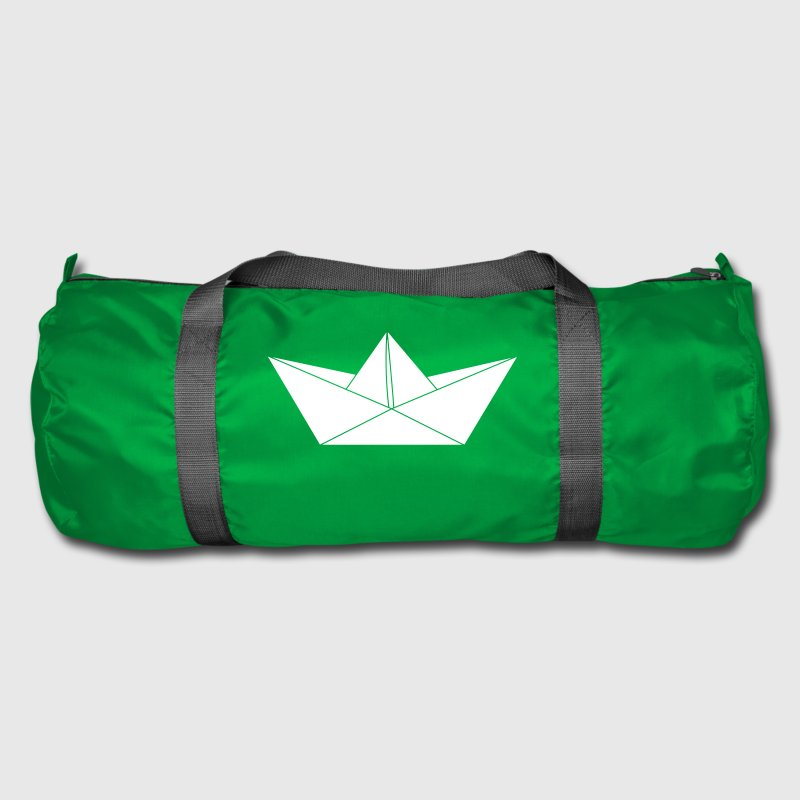 papier origami boat Bags & backpacks - Duffel Bag