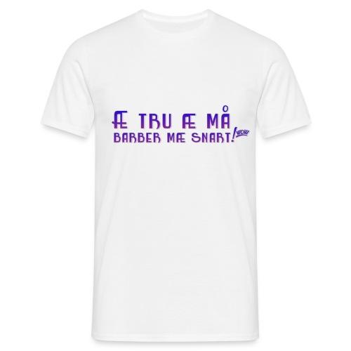 Barber mann by Svada® - T-skjorte for menn
