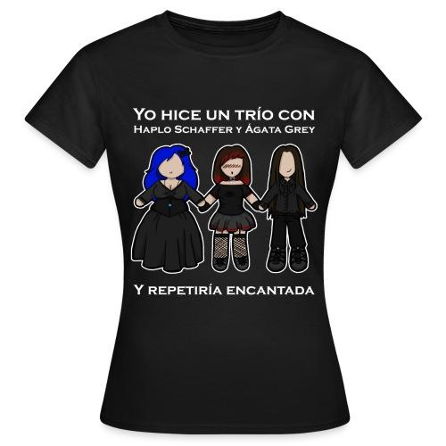 Trío con Haplo y Ágata - Camiseta mujer