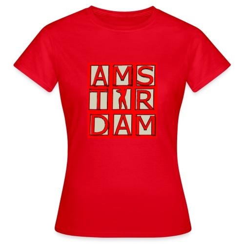 Amsterdam red light T-shirt - Women's T-Shirt