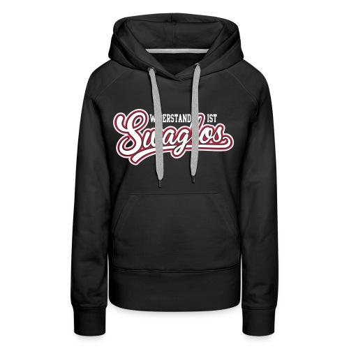 #NEW - Vrouwen Sweater (Swagles) - Vrouwen Premium hoodie