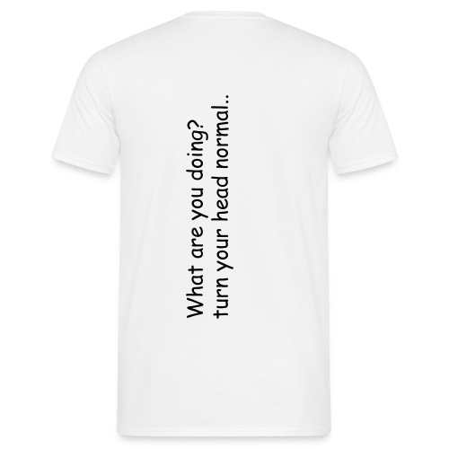 What are you doing? - Men's T-Shirt
