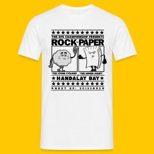 Rock vs Paper - Men's T-Shirt