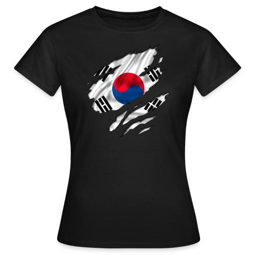 Maglietta Donna- Sud Corea  Black - Maglietta da donna