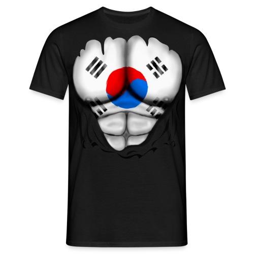 Maglietta Uomo - Sud Corea  Black - Maglietta da uomo