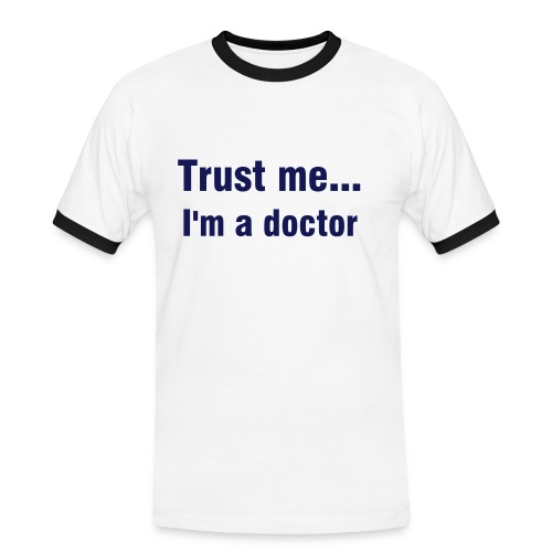 Trust me... - T-Shirt for him - Männer Kontrast-T-Shirt