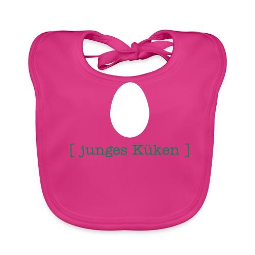 Auffänger (pink) - Baby Bio-Lätzchen