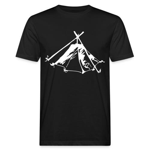 Wieviel Zelt braucht der Mensch? - Kothe - Männer Bio-T-Shirt