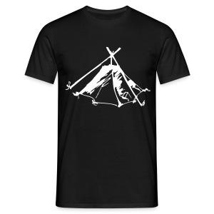 Wieviel Zelt braucht der Mensch? - Kothe - Männer T-Shirt