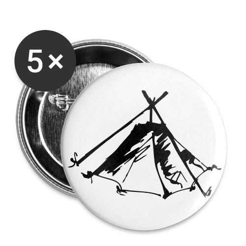 Wieviel Zelt braucht der Mensch? - Kothe - Buttons mittel 32 mm