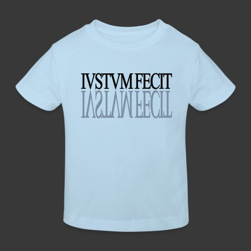 IUSTUM FECIT - Kids' Organic T-Shirt