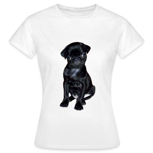 T-Shirt mit Mopsmotiv Coco - Frauen T-Shirt