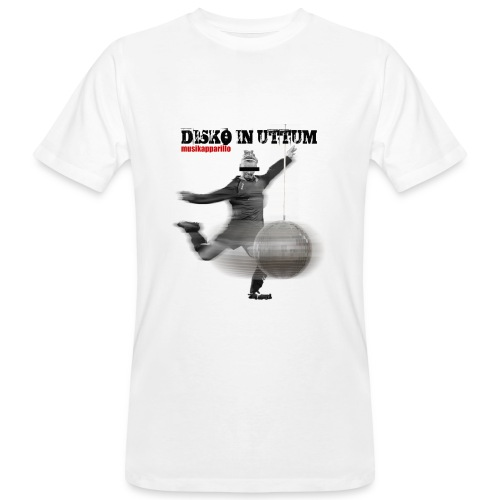 Disko In Uttum - Männer Bio-T-Shirt