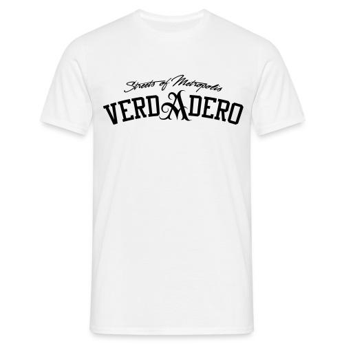 verdadero classic shirt / black/ - Männer T-Shirt
