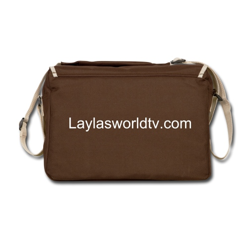 Be Just Like Layla Today -Layla's World TV - Shoulder Bag