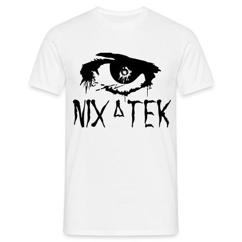 NixaTek T Black Logo - Mannen T-shirt