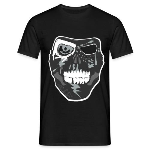NixaTek T Mask Black - Mannen T-shirt