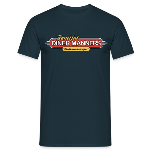 Fanciful Diner Manners (Men's) - Men's T-Shirt