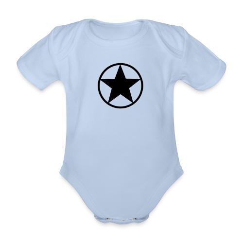 Baby body - NEO, RED - Ekologisk kortärmad babybody