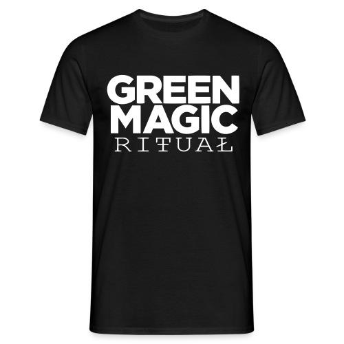 thatGMR classic/white/ arm piece - Männer T-Shirt