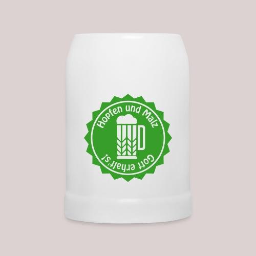 Hopfen und Malz - Gott erhalt's! - Bier - Alkohol - Bierkrug