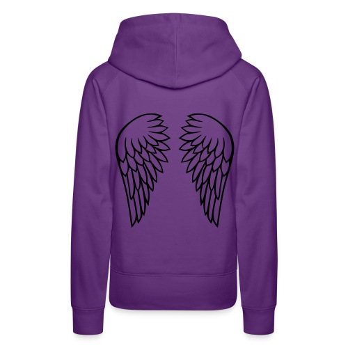 Paarse Vrouwen Sweater - Vrouwen Premium hoodie