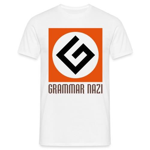 Grammar Nazi - T-shirt Homme