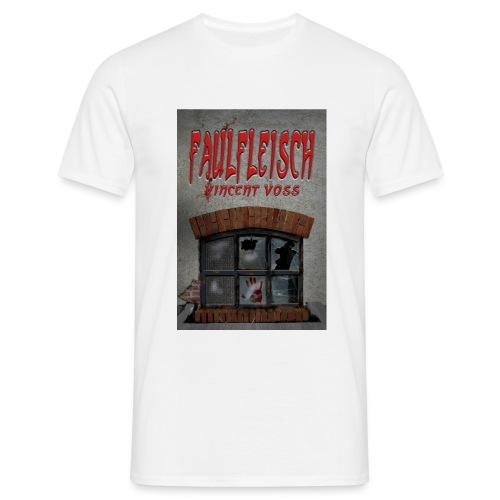 Faulfleisch weiß - Männer T-Shirt