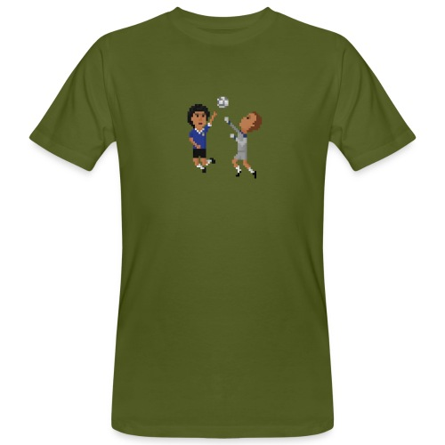 Men T-Shirt Organic- The hand of God - Men's Organic T-Shirt