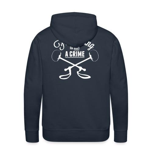 Flourishing is not a crime - Hoodie - Men's Premium Hoodie